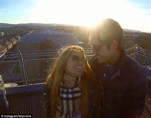 romantic proposal for mkr couple the west australian i was in tears fely irvine announces engagement to home