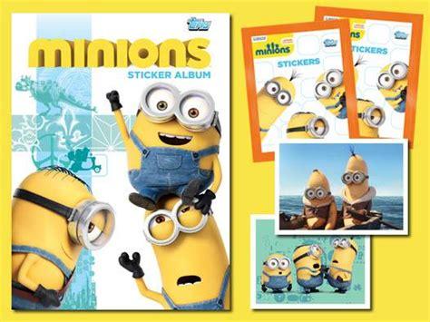 3d Sticker Minions by Topps Minion The Sticker Album Free 36 Stickers
