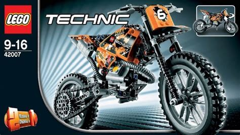 Lego Technik Motorrad by Lego Technic Instructions For 42007 Moto Cross Bike