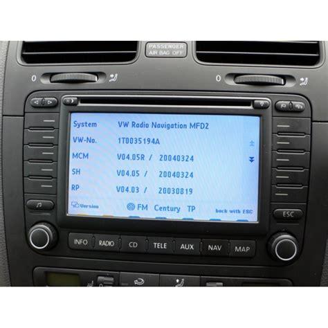 skoda mfd navigation travelpilot dx sat nav update disc cd