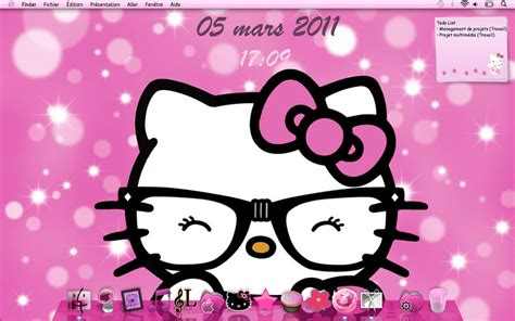 hello kitty new themes nerd hello kitty wallpaper wallpapersafari
