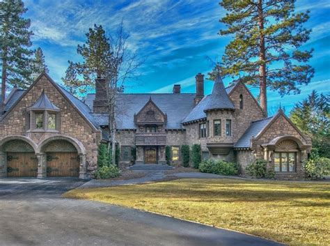 1 Story House Floor Plans 26 million castle like lakefront home in incline village