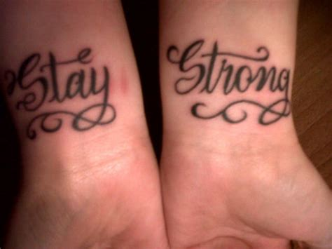stay strong wrist tattoo demi lovato inspired stay strong and is louder fan