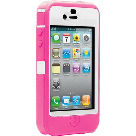 Mobile Sui For Iphone 5 T1910 Otterbox Defender Series To Suit Iphone 4 Pink