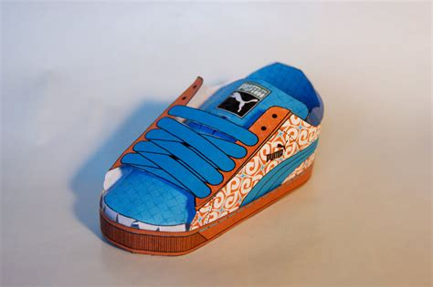 How To Make Paper Shoes - paper shoe by vyse777 on deviantart