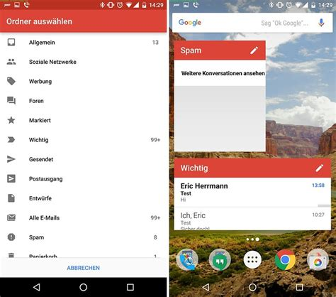 gmail widgets for android gmail f 252 r android tipps und tricks f 252 r besseres e mail management androidpit