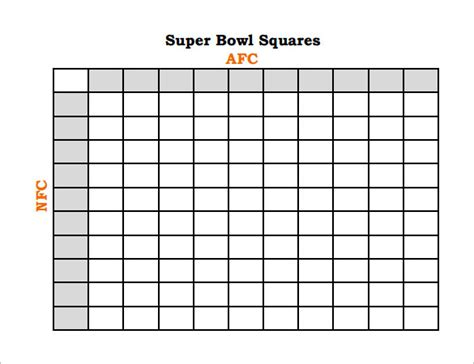 free football square template football pool template 21 free word excel pdf
