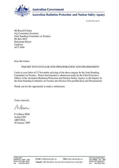 australian business letter template arpansa letterhead template