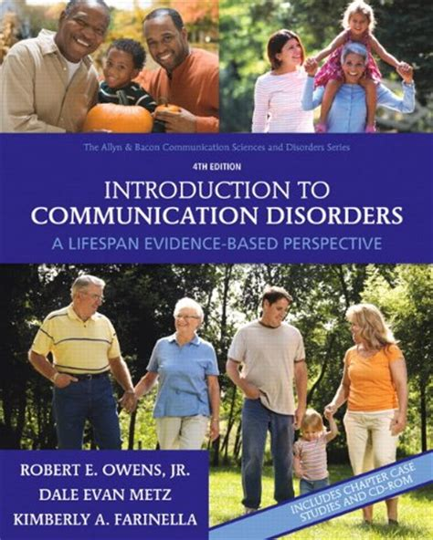 introduction to audiology 13th edition pearson communication sciences and disorders books introduction to communication disorders a lifespan