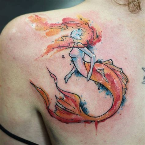 mermaid watercolor tattoo 30 imaginative mermaid designs amazing ideas