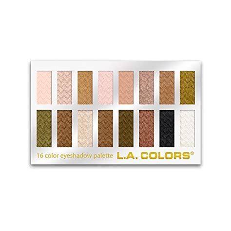 l a colors 16 color eyeshadow palette sweet 1 02 ounce