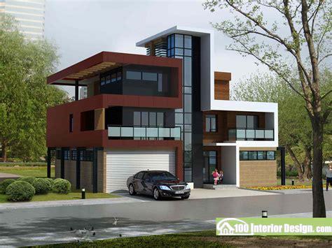 modern style garage plans stylish modern design villa with garage