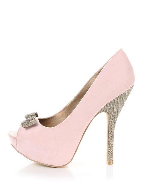 Light Pink Heels by He Me Peep Toe Heels Light Pink