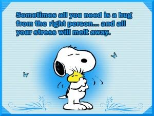 Melt The Days Stress Away by Snoopy Stressed Out Quotes Quotesgram