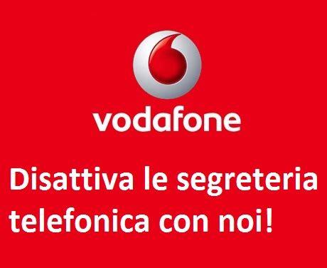 segreteria telefonica fastweb mobile disattivare segreteria vodafone togliere segreteria vodafone