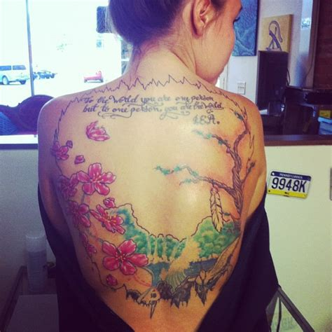 photos kailyn lowry s back tattoos and what they