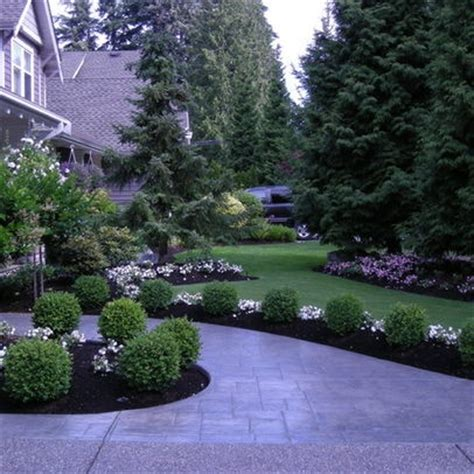 Landscape Ideas Next To House Along Our Driveway Gardening