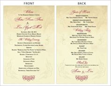 classical program template 1000 images about ideas for the wedding on