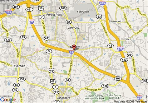 map of quality inn and suites southlake morrow