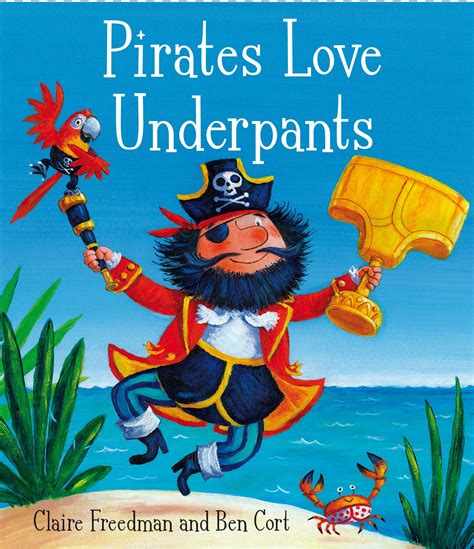 pirate picture books win 1 of 5 copies of underpants book
