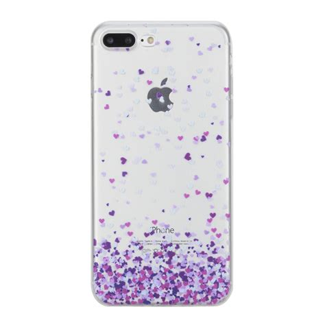 Deal Thin Clear Soft Tpu Rubber Cover Iphone 6 6s Plus Bunga painted clear soft tpu rubber thin protective cover