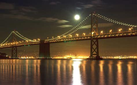 Design Wallpaper HD   Golden Gate Bridge Night Wallpapers