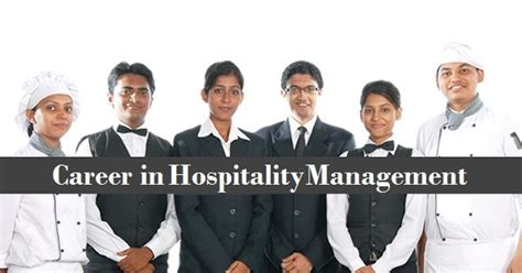 Career Opportunities Mba Hospitality Management by Hospitality Management Careers Courses Colleges