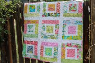 lulu s quilt pdf pattern easy baby quilt scraps by