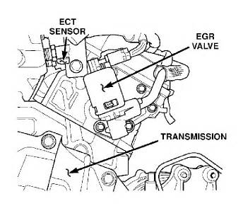 chrysler pacifica egr valve 2005 pacifica 3 5l engine check egine light on error