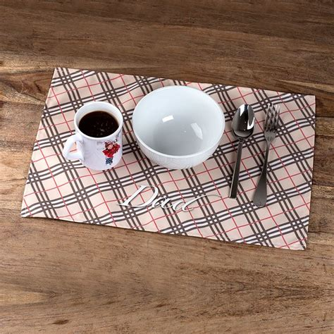 Sets De Table Tissu by Set De Table Tissu Personnalis 233 Set De Table Personnalis 233