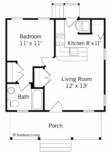 one room floor plans 1 bedroom house plans 1 bedroom house plans top one