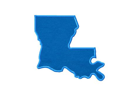 state pictures louisiana state machine embroidery includes both applique