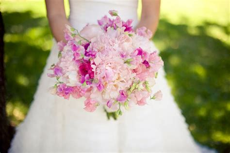 peas and peonies wedding flowers peonies