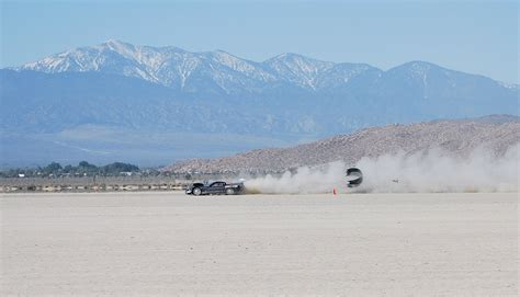 el mirage dry lake bed just a car guy full speed on the dry lake bed at el