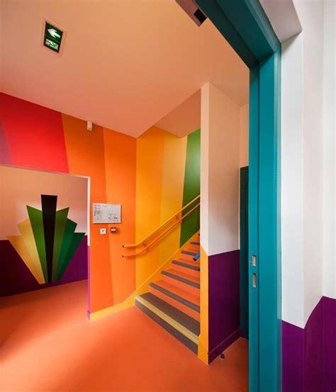 ecole maternelle design  coloree  paris