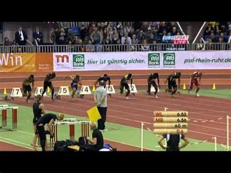 psd bank düsseldorf 60m hurdles heat 2 psd bank meeting 2011 d 252 sseldorf