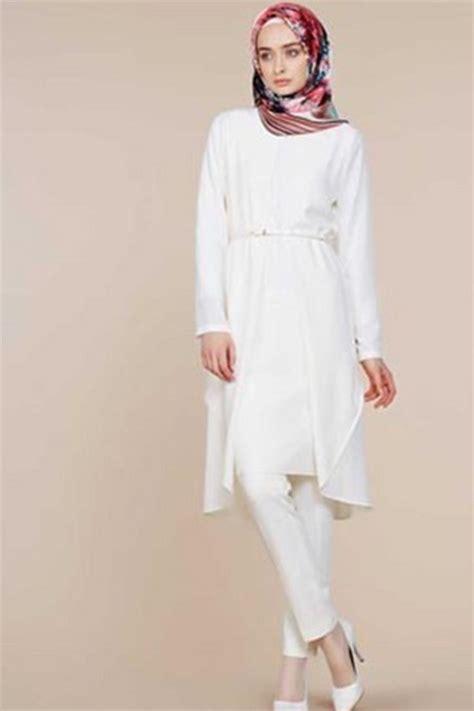 Tunik Sorea Bordir Putih Tunik Wanita model tunik terkini untuk lebaran 2016 ide model busana