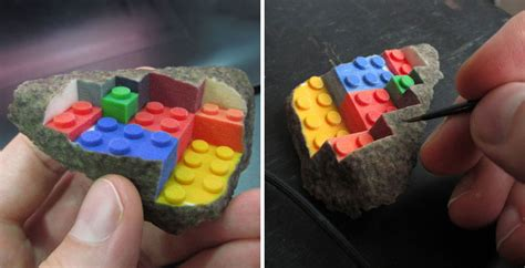 Rok Printing 3d Wedges Import 3d printed lego wedge completes chipped rock by greg petchkovsky
