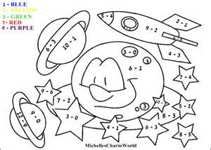 color by subtraction subtraction coloring pages az coloring pages