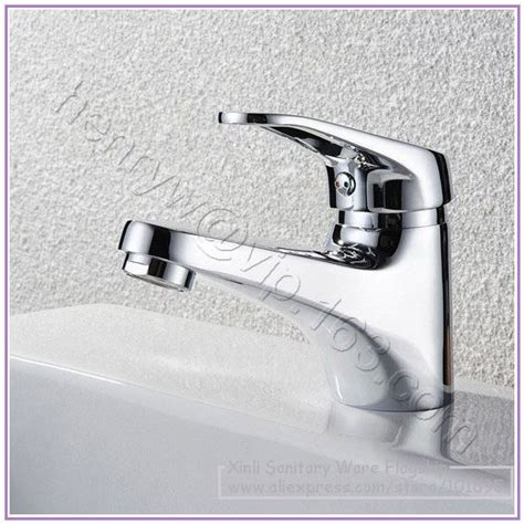 retail luxury brass wash basin faucet only cold water