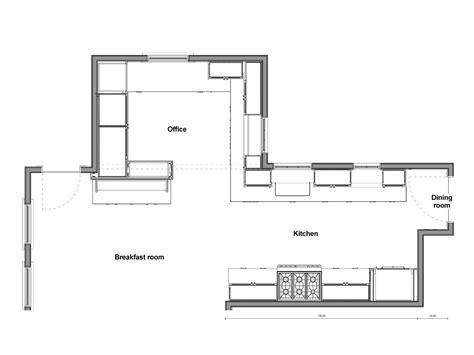 draw kitchen floor plan kitchen floor plan drawings