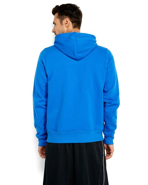 Hoodie Zipper New Balance Jaket Sweater Keren new balance zip hoodie in blue for lyst