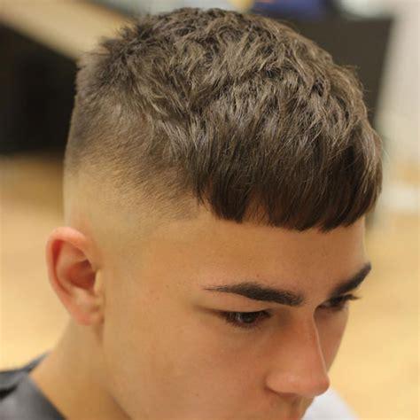 side crop haircut french crop haircut