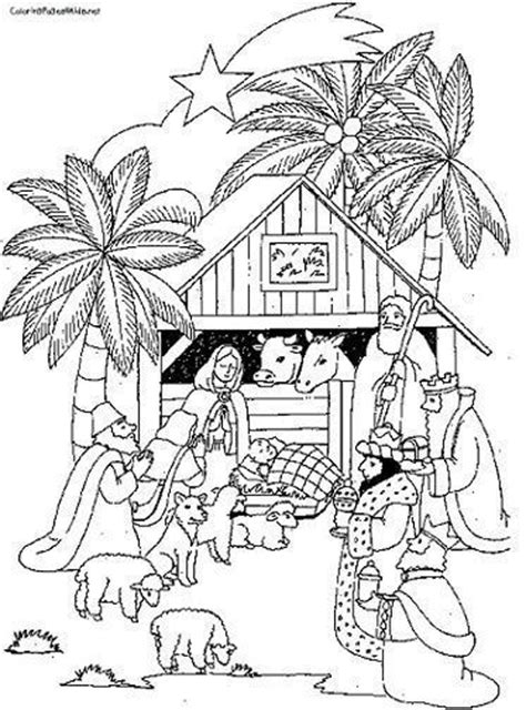 dibujos navideños para colorear portal belen dibujos portal belen para recortar colorear kamistad