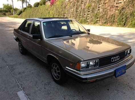 for sale 1983 audi 5000s german cars for sale