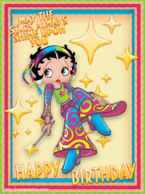 Betty Boop Birthday Quotes Betty Boop Pictures Archive Betty Boop Happy Birthday