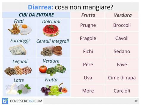 alimentazione in caso di diarrea 187 alimenti per diarrea