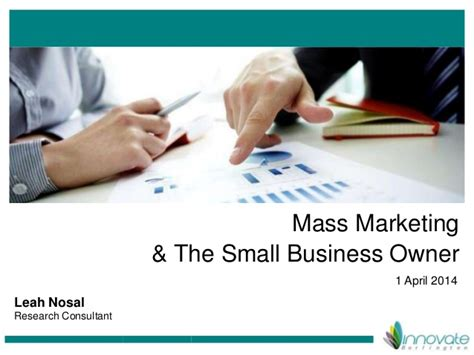 Small Business Owner Mba by Mass Marketing The Small Business Owner