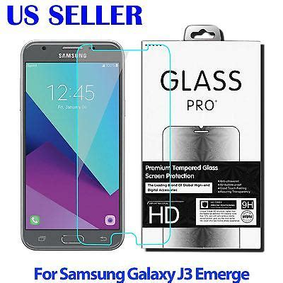 Premium Tempered Glass 025d Samsung J3 2017 3x tempered glass screen protector pet for samsung