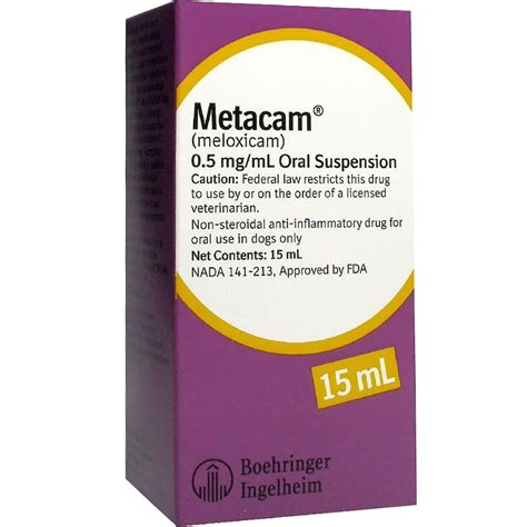 metacam for dogs metacam 0 5mg ml for dogs 15 ml